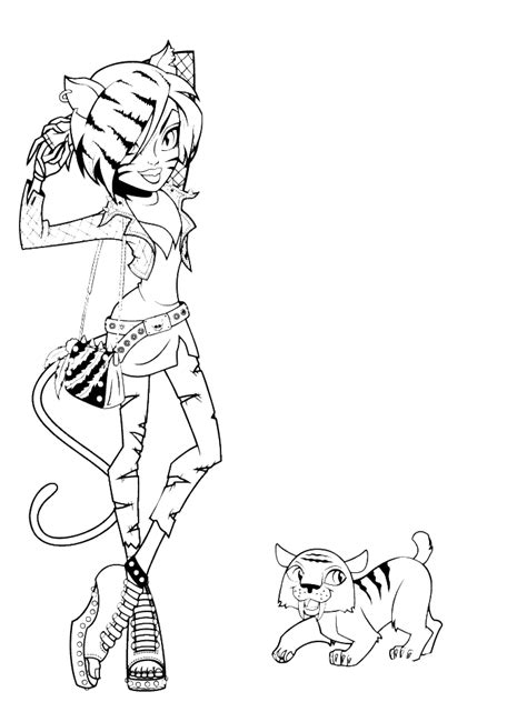 baby jinafire long coloring pages