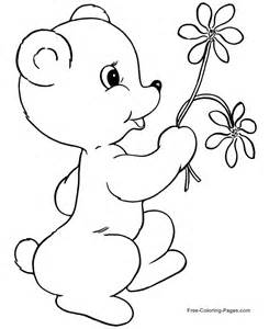 flowers coloring pages mother