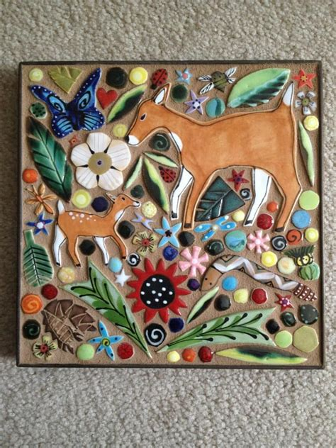 Handmade Mosaic - 17 best images about tile and wall plaques on