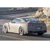 2017 Nissan GT R First Spy Shots  GTspirit