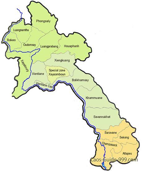 map of laos laos map country map of laos