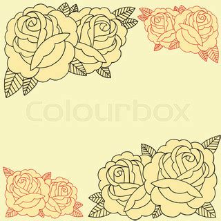 how to create a classic tattoo style vector illustration roses frame line work in school style set 07
