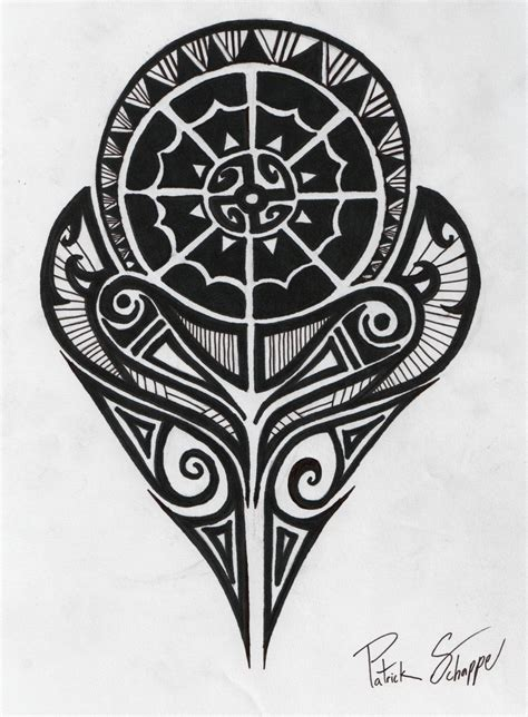 strength tribal tattoo polynesian for guys out there ideas
