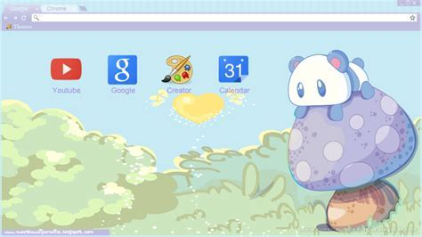 Kawaii Panda Theme For Google Chrome by MinnieKawaiiTutos