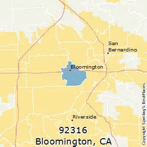 bloomington california map best places to live in bloomington zip 92316 california