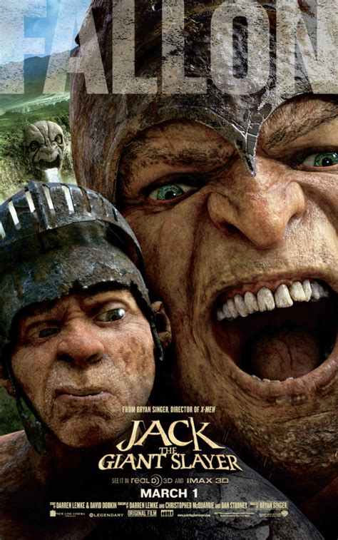 film disney jack jack the giant slayer posters feature fearsome giants