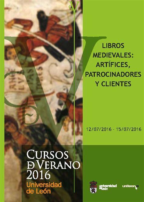 cursos de verano instituto de estudios medievales