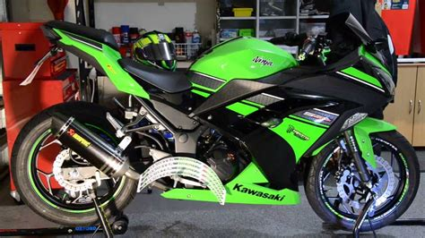 Sticker Kawasaki Ninja 300 by Ninja 300 Monster Racing Wheel Stickers Youtube