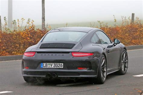 porsche 911 back porsche 911 r 2016 first photos of the back to basics