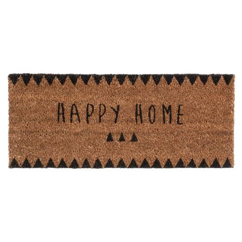 Home Doormat Happy Home Doormat 25 X 55 Cm Maisons Du Monde
