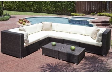 edge collection outdoor sectional sofa outdoor sofas