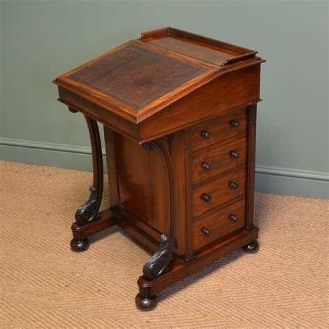 mahogany writing desk quality mahogany antique davenport