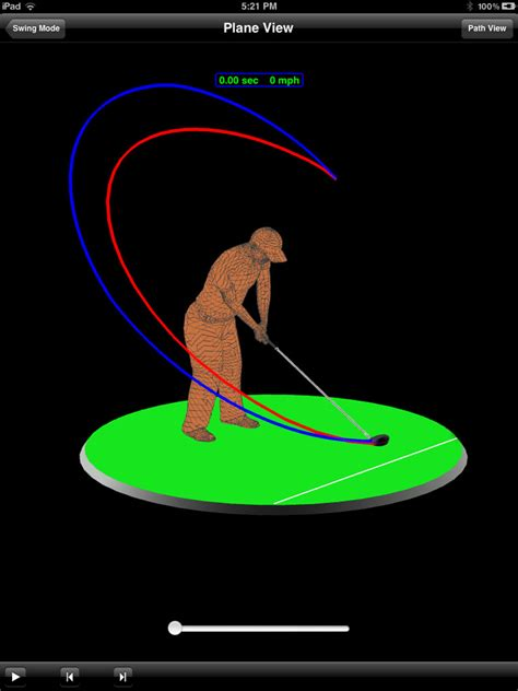 animated golf swing swingsmart easy to use swing data via smartphones tablets