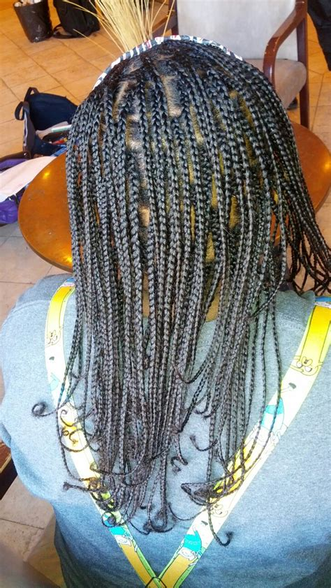plaits with weave small plait braids no weave all natural hair krazy