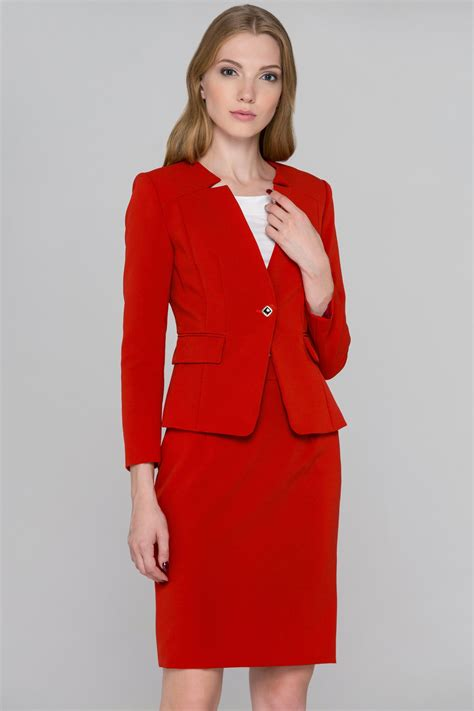 Blazer Set Skirt notched collar blazer and skirt set ownthelooks