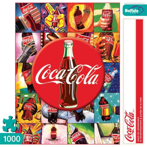 Jigsaw Puzzle Worldwide Bottles 1000 reach for refreshment coca cola jigsaw puzzle