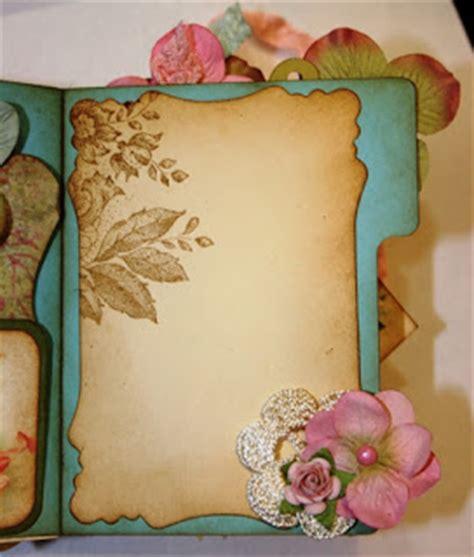 How To Make A Beautiful Handmade Folder - shabby beautiful scrapbooking vintage file folder