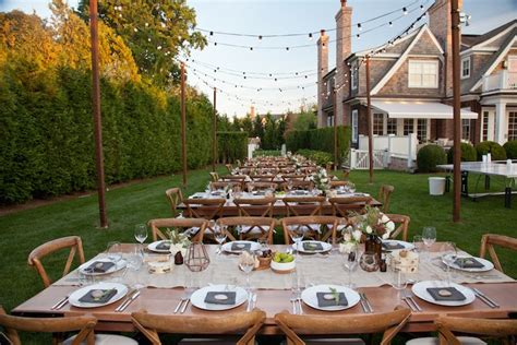 rustic backyard party ideas kara s party ideas dining tablescapes from a rustic