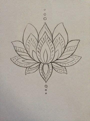 design outline meaning cool black outline lotus flower tattoo design by mmenjurag