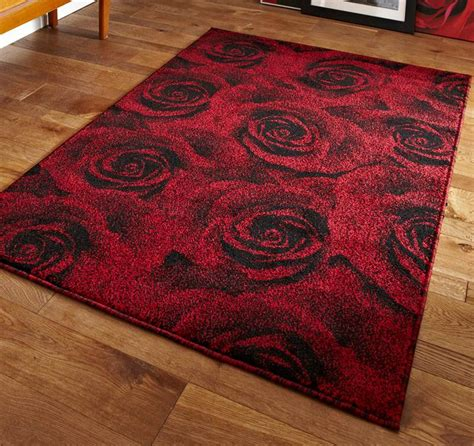 petal rug rug large petal effect design with a 3d pattern modern ebay