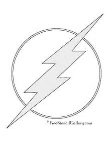 symbol templates the flash symbol stencil free stencil gallery