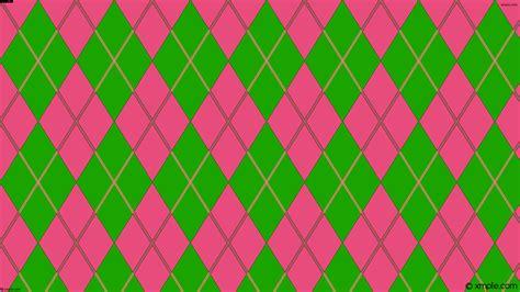 Pink Argyle Wallpaper