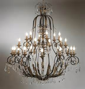 Metal Chandeliers 3 Pigeonquill