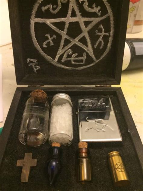 supernatural diy crafts how to a mini supernatural kit supernatural supernatural minis