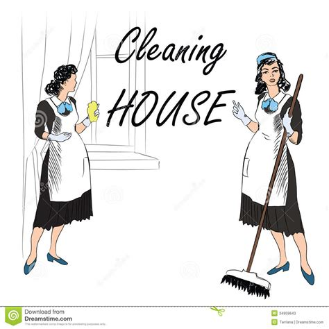 Washing In Style by Cleaning Service Sign Retro Style Illustration Stock