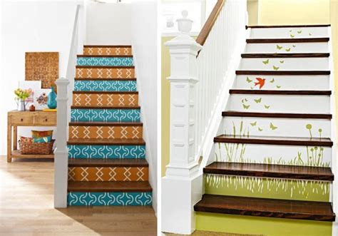 best paint for stair treads ideas for painting the stairs one decor