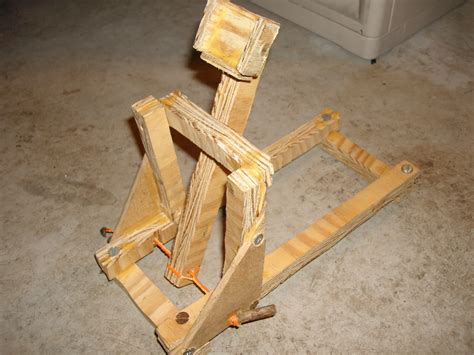 Handmade Catapult - catapult all