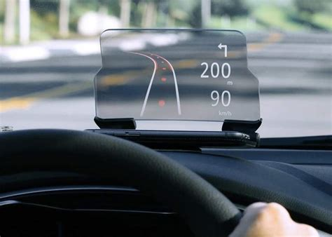 Head Up Display Auto by Wordlesstech Heads Up Display For Any Car