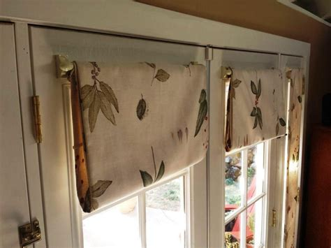 Decorative Curtains For Doors - how do you hang a curtain rod on fiberglass door curtain