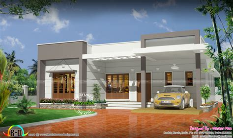 kerala home design below 20 lakhs 25 lakhs cost estimated 3 bhk home kerala home design
