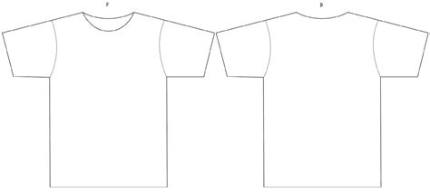 empty t shirt template with vocabulary bionic teaching