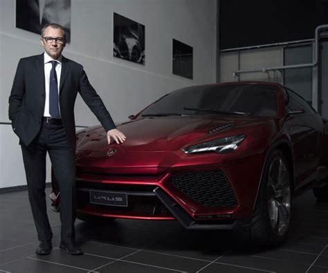 Lamborghini Ceo Lamborghini Urus Output Revealed By Ceo Stefano Domenicali