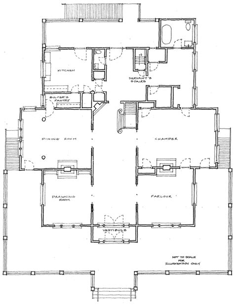 Historic Floor Plans | historic coleman house floor plan