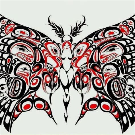 west coast native tattoo designs 61 best salish coastal haida images on