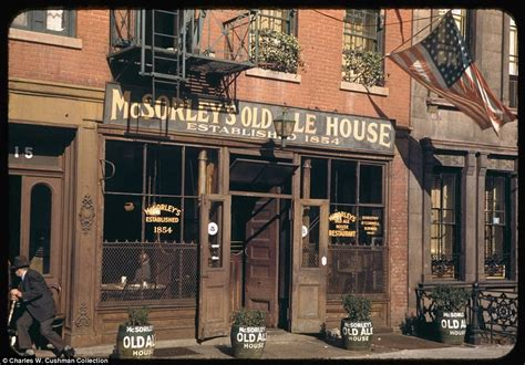 color house nyc new york city photos by charles w cushman reveal 1940s