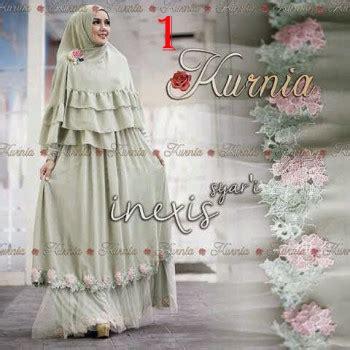 Baju Muslim I Gamis Jersey I Gamis Syari I Busana Muslim I Bgj0756 inexis syari by kurnia 1 baju muslim gamis modern