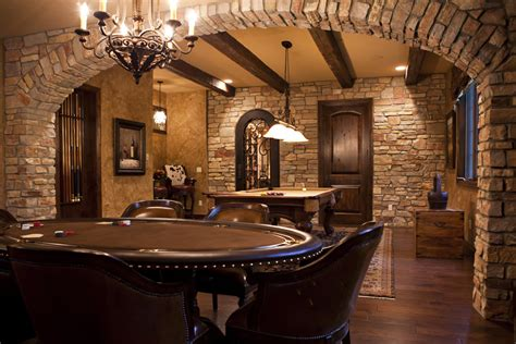 tile arch home design ideas pictures remodel and decor charm rustic basement bar jeffsbakery basement mattress