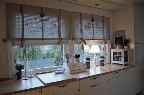 Country Kitchen Curtain Ideas Kitchen Curtains Idea For Diy Whitewashed Cottage Chippy Shabby Chic Country Rustic