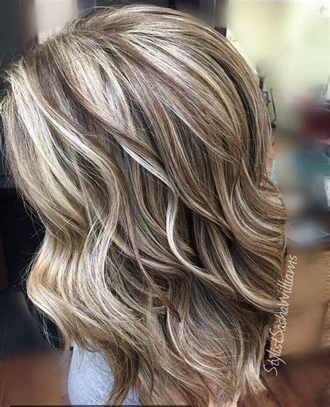 tutorials for putting lowlights in blonde hair highlights lowlights blonde hair short hairstyle