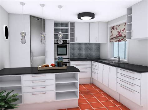 Upper Kitchen Cabinet by Plan Your Kitchen Design Ideas With Roomsketcher Roomsketcher Blog