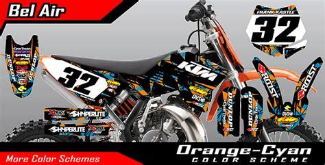 Motocross Motorrad Pink by Roost Mx Motocross Graphics Ktm Minis Bel Air