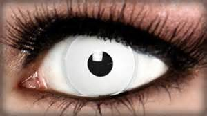 color blind contacts white theatrical contact lens contacts