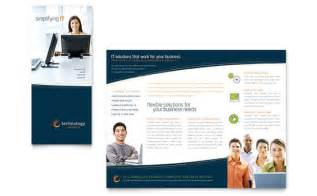 brochure layout templates free free tri fold brochure templates sle tri fold brochures
