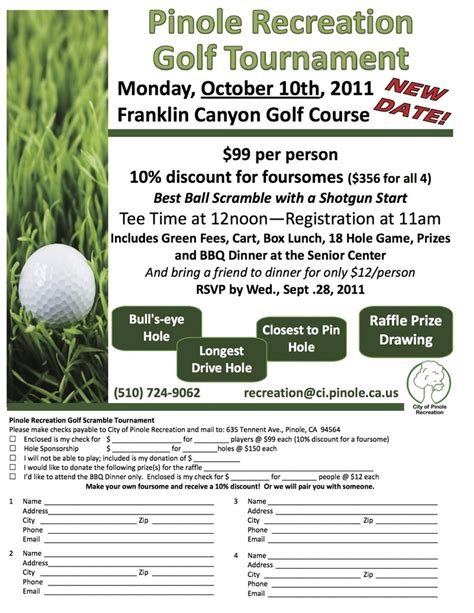 golf outing flyer template 17 best images about golf tournament on the