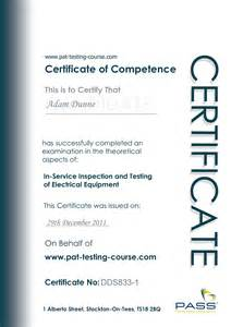 portable appliance testing certificate template pat testing services risk based portable