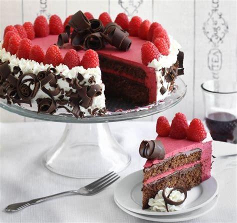pastel de chocolate con frambuesa torta de chocolate y frambuesas de lujo mundo pastel